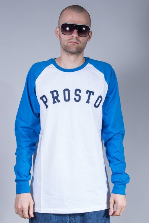 PROSTO LONGSLEEVE ARC WHITE-BLUE