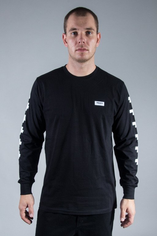PROSTO LONGSLEEVE CROSSES BLACK