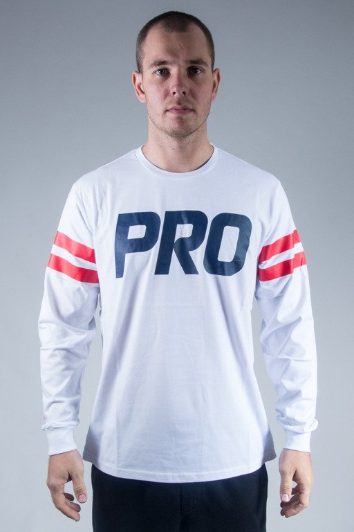 PROSTO LONGSLEEVE STRIPED WHITE