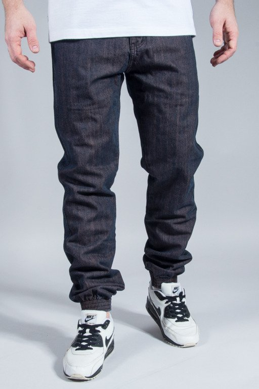 PROSTO PANTS JEANS JOGGER 2 RED WASHED