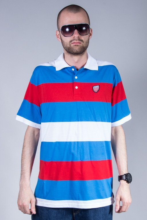 PROSTO POLO HAKA BLUE-RED