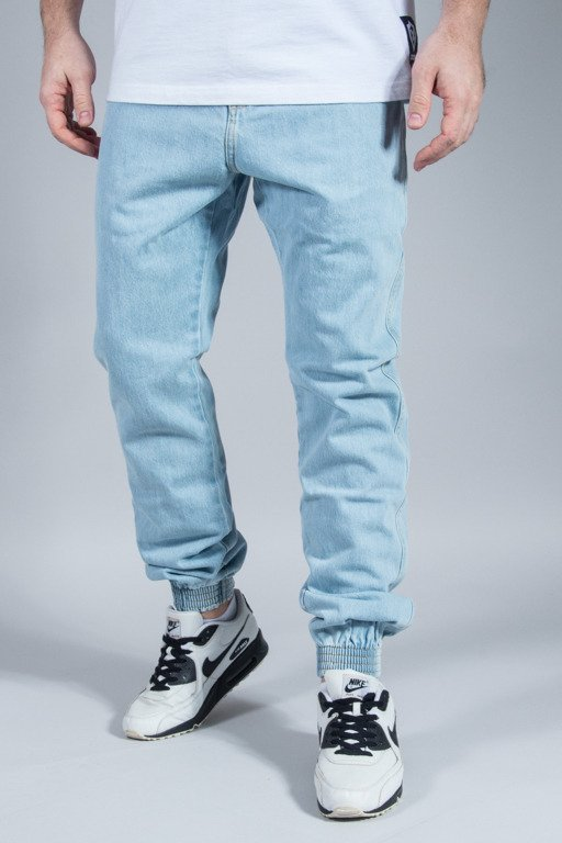 PROSTO SPODNIE JEANS JOGGER REGULAR LIGHT