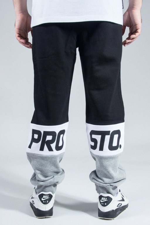 PROSTO SWEATPANTS TRPLET BLACK