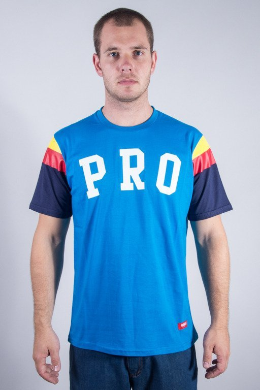 PROSTO T-SHIRT COLORS BLUE