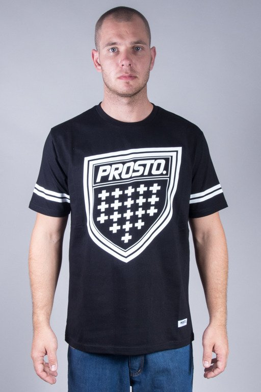 PROSTO T-SHIRT SHIELDZ BLACK