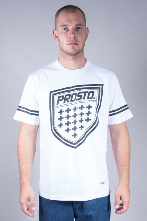 PROSTO T-SHIRT SHIELDZ WHITE