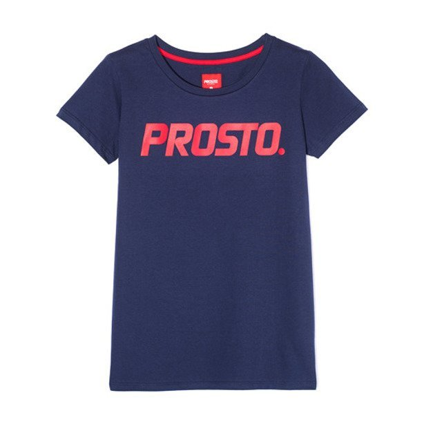 PROSTO T-SHIRT WOMAN AERO NAVY