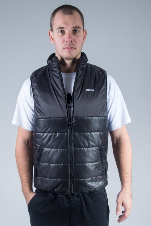 PROSTO VEST THE CITY BLACK