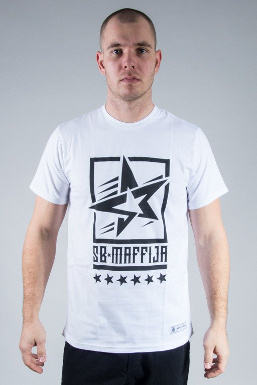 SB MAFFIJA T-SHIRT STAR WHITE