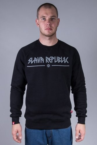 SLAVA REPUBLIC CREWNECK PERUN BLACK