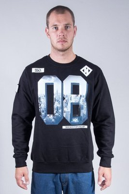SSG CREWNECK 08 CITY BLACK