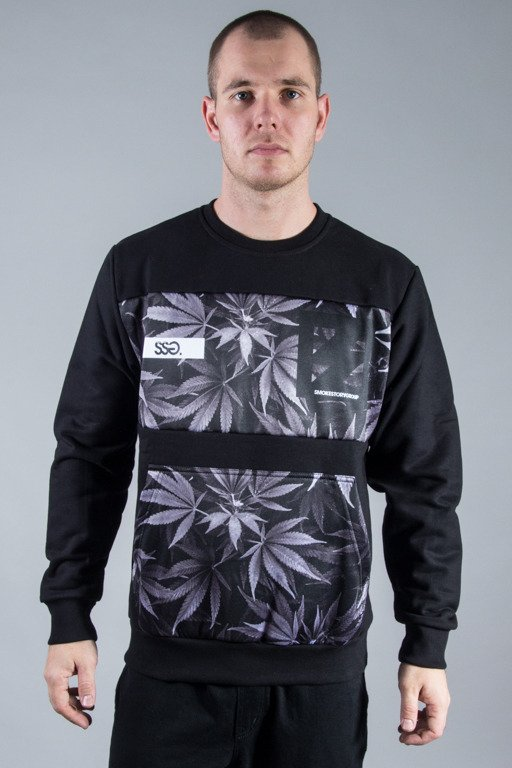 SSG CREWNECK PLANT POCKET BLACK