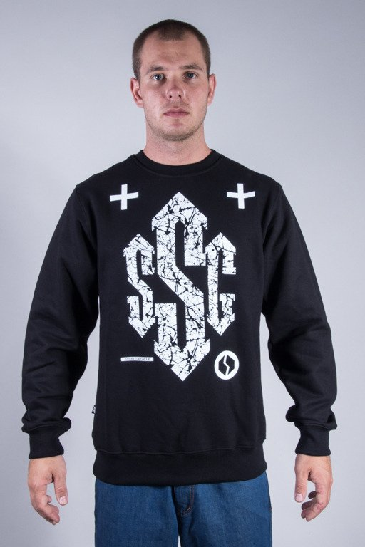 SSG CREWNECK SIGN BLACK