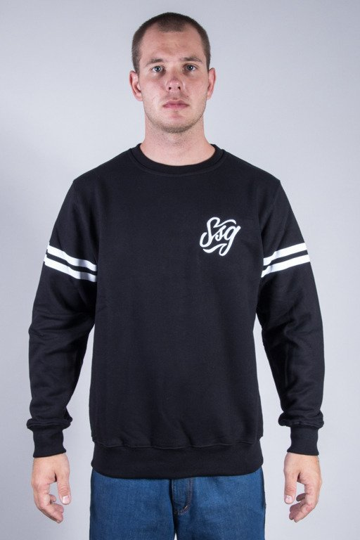 SSG CREWNECK SIMPLE BLACK