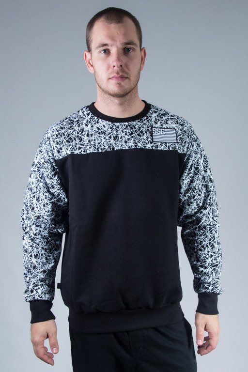SSG CREWNECK SPLASH FLASH BLACK