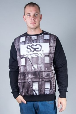 SSG CREWNECK STIRS BLACK