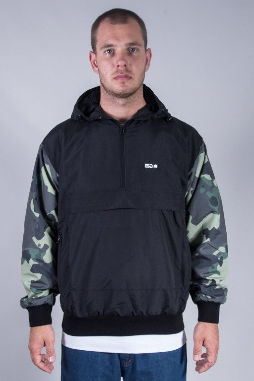 SSG JACKET KANGURKA MORO SLEEVES BLACK