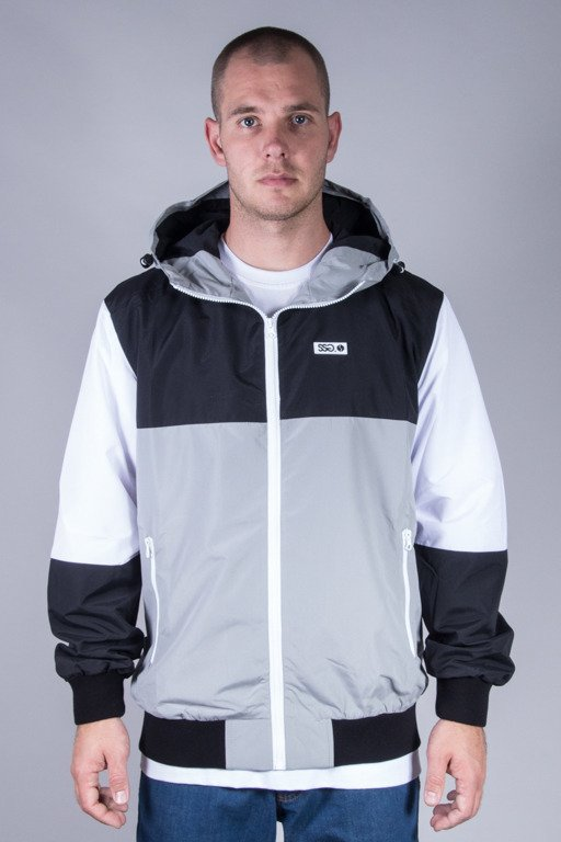 SSG JACKET ORTALION DOUBLE COLOR BLACK-GREY