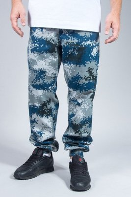 SSG PANTS CHINO JOGGER MORO NEW BLUE PIXEL
