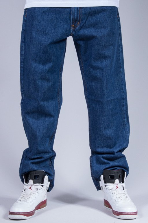 SSG SPODNIE JEANS REGULAR CLASSIC MEDIUM