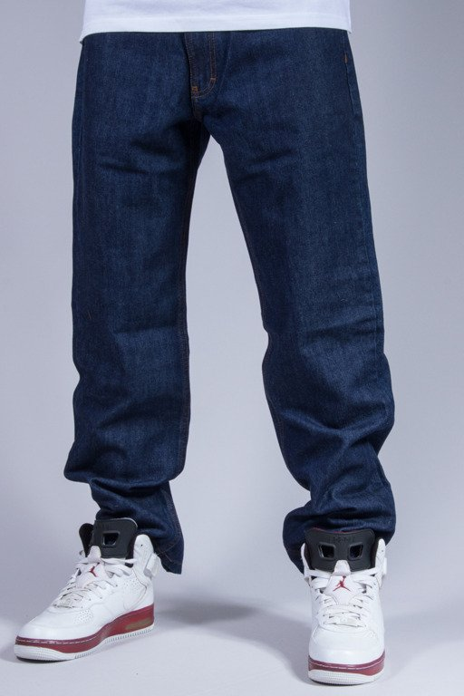 SSG SPODNIE JEANS REGULAR OUTLINE DARK
