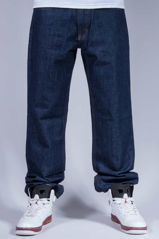 SSG SPODNIE JEANS REGULAR POCKET DARK