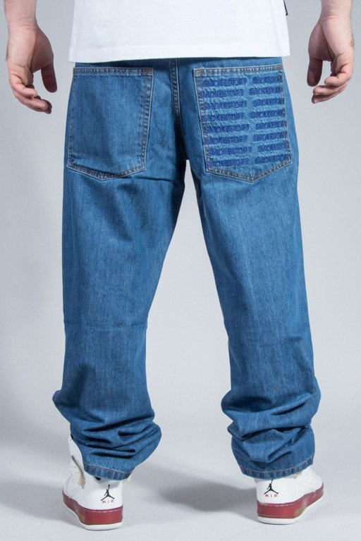 SSG SPODNIE JEANS REGULAR POCKET LIGHT