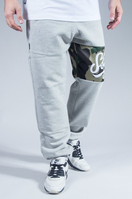 SSG SWEATPANTS REGULAR MORO LINE MELANGE