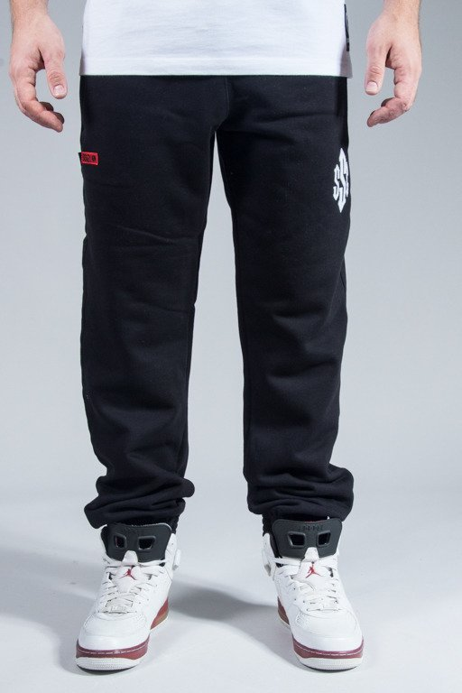 SSG SWEATPANTS SIGN JOGGER BLACK