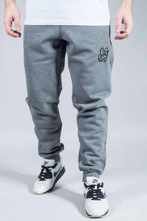SSG SWEATPANTS SLIM TAG  GREY