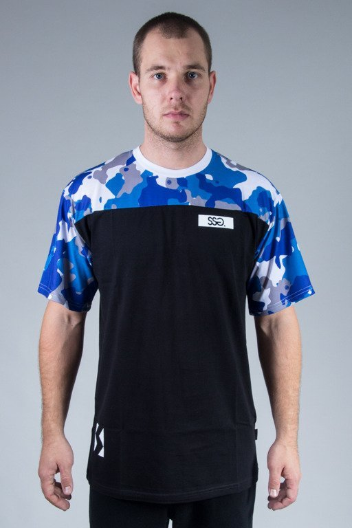 SSG T-SHIRT BLUE MORO BLACK