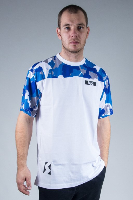 SSG T-SHIRT BLUE MORO WHITE