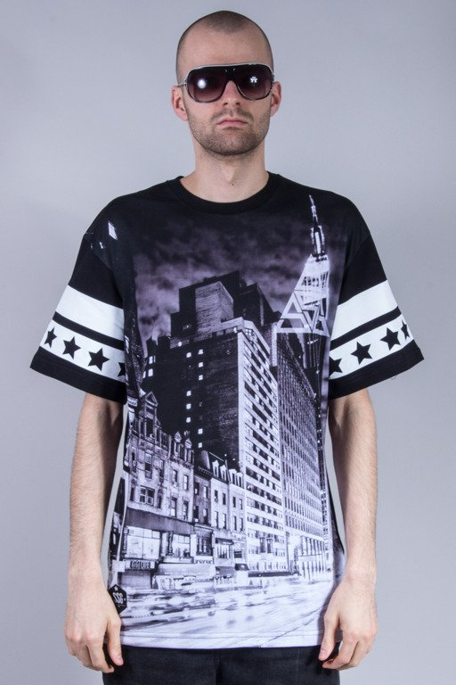 SSG T-SHIRT CITY TRIANGLE BW BLACK