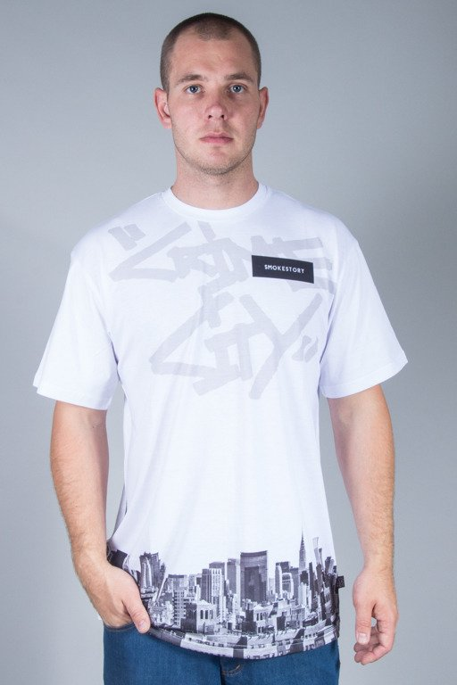 SSG T-SHIRT CRIME CITY WHITE