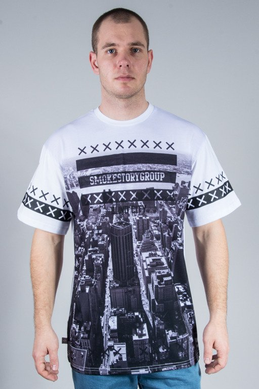 SSG T-SHIRT  DOWNTOWN WHITE
