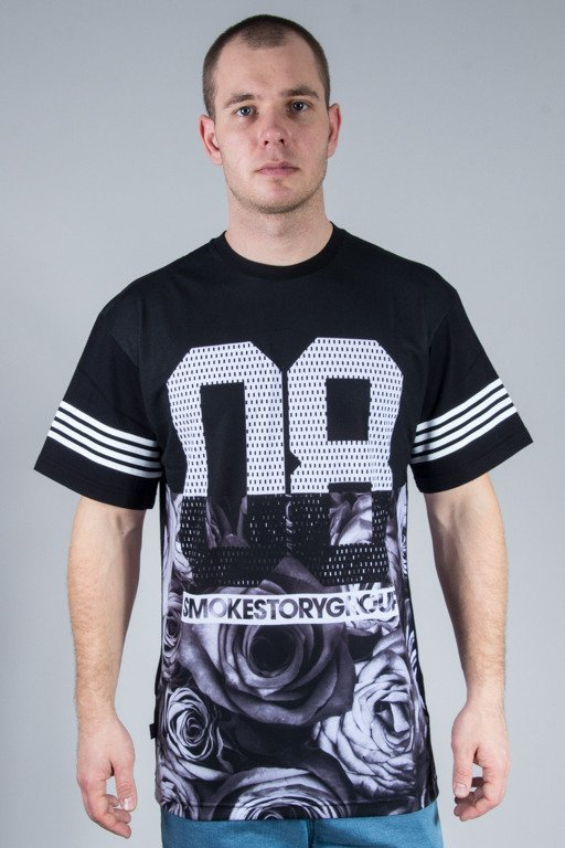 SSG T-SHIRT HALF ROSE BLACK