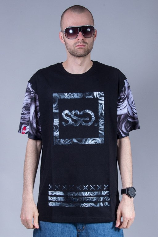 SSG T-SHIRT ROSE 08 BLACK
