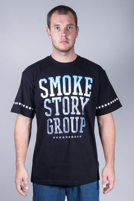 SSG T-SHIRT SMOKE PHOTO BLACK