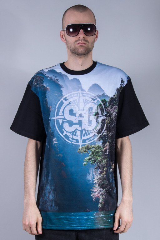 SSG T-SHIRT WATERFALL BLACK
