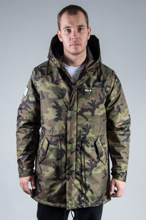 SSG WINTER JACKET STREET PARKA CAMO