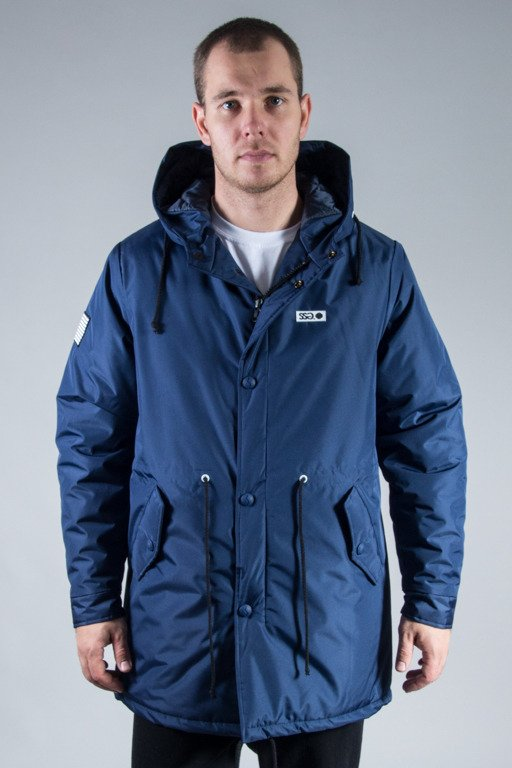 SSG WINTER JACKET STREET PARKA NAVY