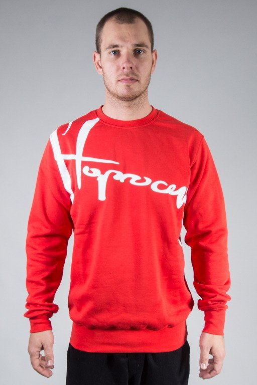 STOPROCENT CREWNECK DOWNHILL16 RED