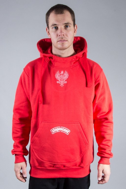 STOPROCENT HOODIE POL16 RED