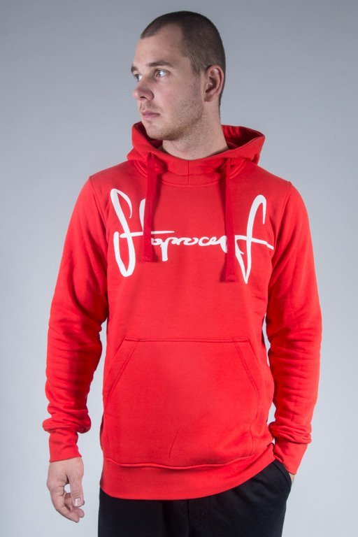 STOPROCENT HOODIE TAG16 RED