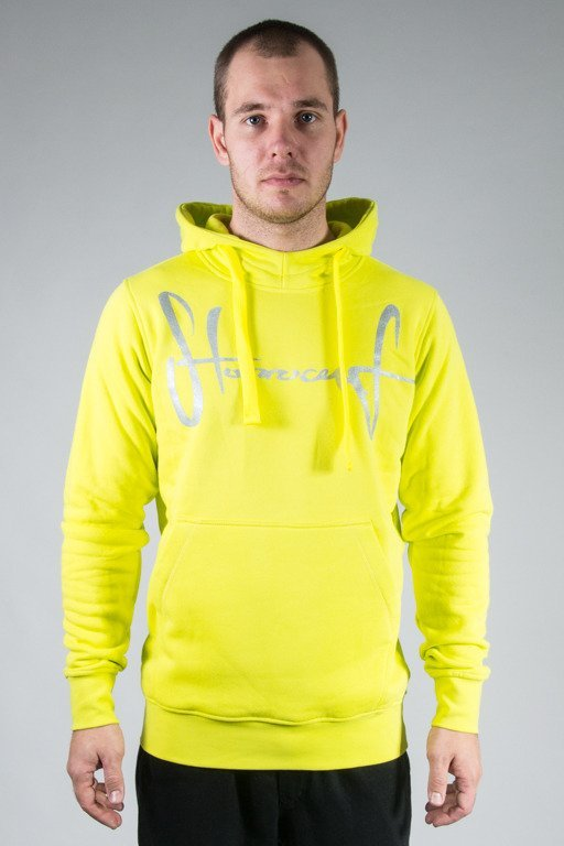 STOPROCENT HOODIE TAG16 TOXIC YELLOW