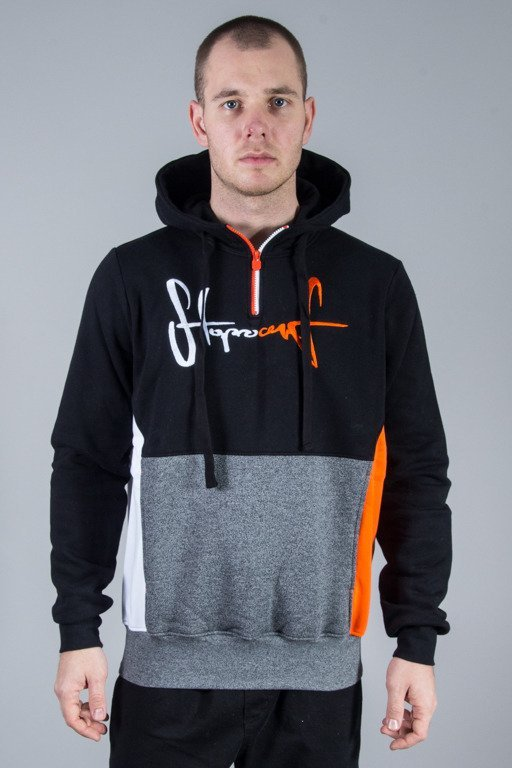 STOPROCENT HOODIE  TRENER BLACK-PEPPER