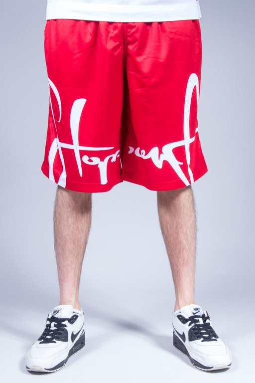 STOPROCENT SHORTS FRONTAG RED