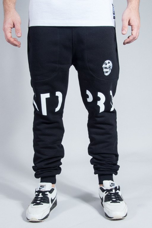 STOPROCENT SWEATPANTS COWBOY FUTURE BLACK