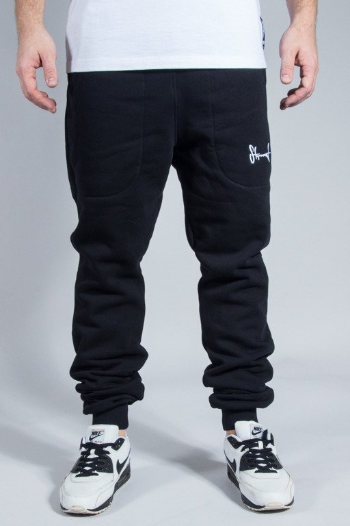STOPROCENT SWEATPANTS COWBOY POCKETAG BLACK