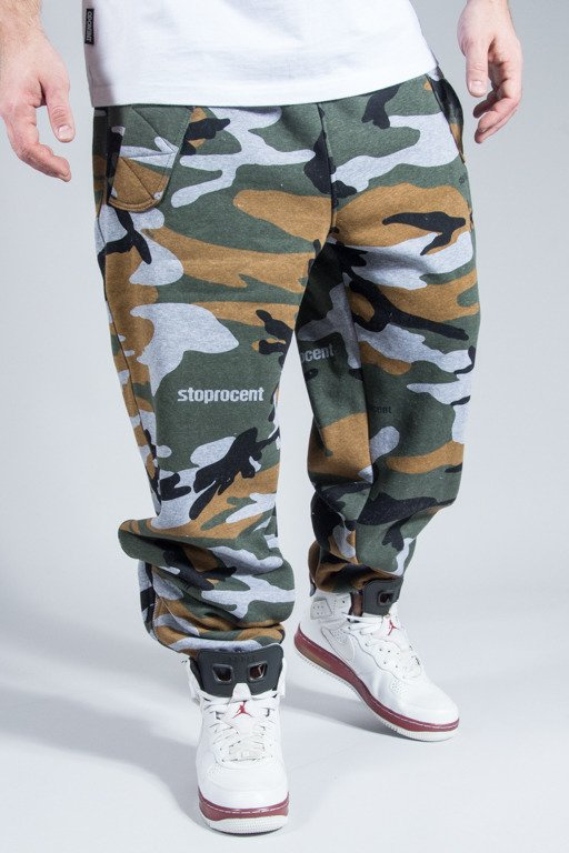 STOPROCENT SWEATPANTS DM CAMO